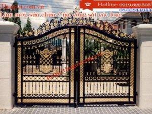 Làm mới, sửa chữa cửa sắt giá rẻ tại tất cả các quận TPHCM