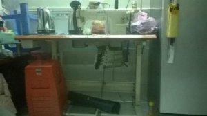 Bình thạnh máy may công nghiệp hiệu JUKI