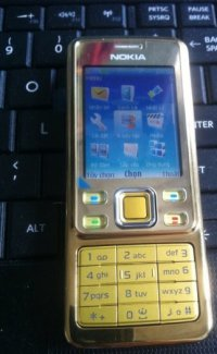 Điện thoại Nokia 6300 gold new