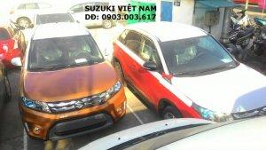 Suzuki Vitara 2016 có đủ các màu, Giao xe...