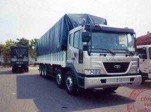 Xe tải Daewoo 25 tấn P9CVF Thùng Mui Bạt