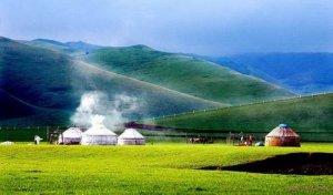 Khám phá thảo nguyên xanh, xa mạc ở Nội Mông - Trung Quốc