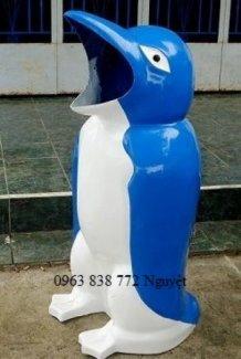 Thùng rác chim cánh cụt đựng rác thải sinh hoạt chất lượng cao