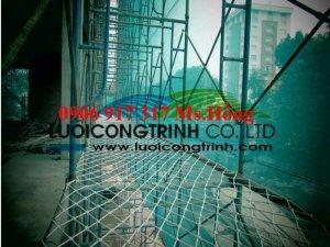 Lưới nhựa bao che cho công trình xây dựng