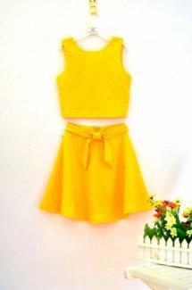 Váy đầm vàng chanh