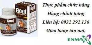 Giảm sưng đau nhức khớp do gout