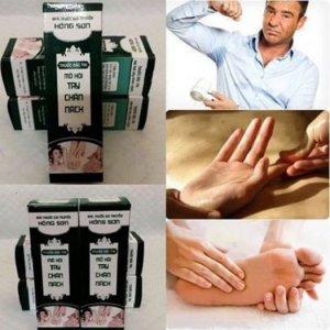 Dầu massage hỗ trợ trị mồ hôi chân , tay, nách