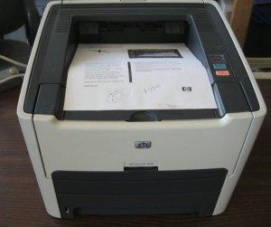 Máy in cũ - Máy in  HP 1320 - máy in 2 mặt tự động giá chỉ 2,2 triệu