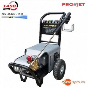 Máy xịt rửa xe máy, ô tô, xe tải áp lực cao PROJET P3000-15