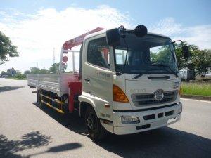 Bán xe tải Hino FC9JL 6,4 tấn gắn cẩu Unic 3...