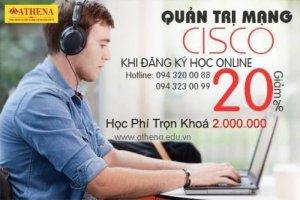 Học Trực Tuyến Quản Trị Mạng Cisco - CCNA