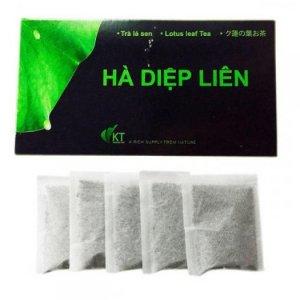 Trà lá sen Hà Diệp Liên túi lọc x 30 túi (túi 3 gram)