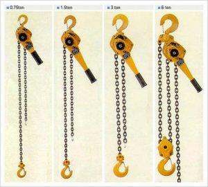 Pa lăng xích kéo tay, Pa lăng lắc tay Nitto, Chain hoist, lever hoist