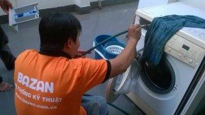 Vệ sinh máy giặt của Bazan