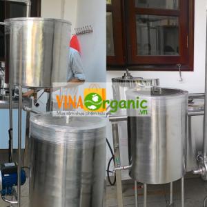 Máy nấu sữa bắp- Máy nấu sữa thực vật VinaOrganic