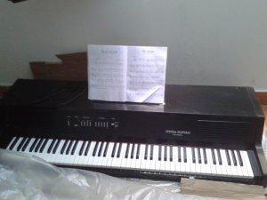 Đàn Piano điện, 88 phím nặng. Model : EP 503. Columbia.