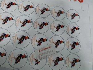 In tem decal giấy, tem nhãn dạng tròn tại In Kỹ Thuật Số