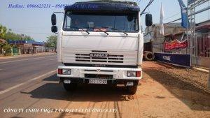 Xe tải thùng Kamaz 65117