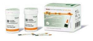 Que test thử tiểu đường Beurer GL50 dùng cho Máy đo đường huyết Beurer GL50 của CHLB Đức
