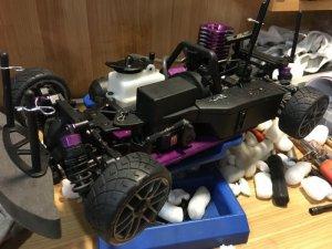 Xe điều khiển từ xa xăng nitro