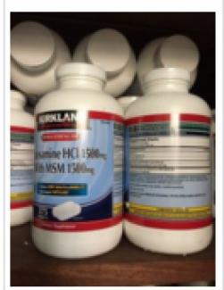 Glucosamin HCL 1500mg nhập khẩu từ Mỹ