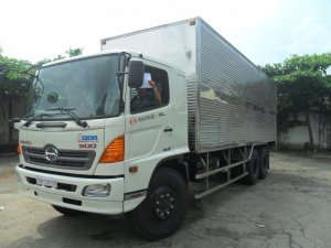 Bán xe tải Hino FL 16 tấn 3 Chân Thùng Mui bạt giá rẻ trả góp lãi suất thấp Giao Xe Toàn Quốc