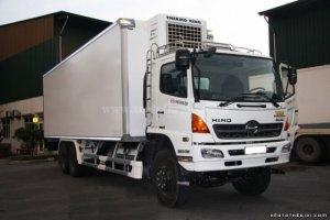 Xe tải hino 3 chân 16 tấn thùng dài 7.8m 9.4M thùng kín thùng mui bạt Bán trả góp Giao Xe Toàn Quốc
