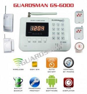 Báo Trộm Dùng Sim+Tel , Báo Trộm Guardsman Gs-6000