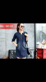 Váy jean korea 2016 giá rẻ