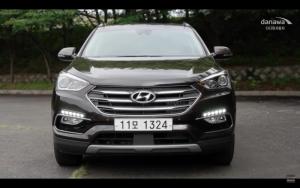 Hyundai Santafe 7 chỗ máy dầu 2016, mới nhất, giá ưu đãi nhất tại Bà Rịa Vũng Tàu