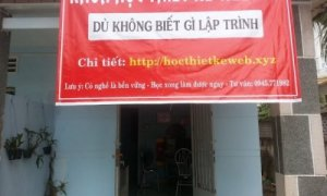 Học thiết kế Web tại Bình Duong