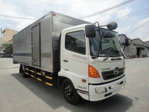 Bán gấp xe HINO 6.4Tấn thùng mui bạt thùng kín Trả Góp Lãi Suất Thấp