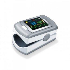 Máy đo nồng độ bão hòa Oxy trong máu SpO2 và nhịp tim Beurer PO80 kết nối với máy tính