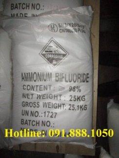 Bán-NH4HF2-Ammoni-bifloride 98% chất làm mờ gương kính, chống bám vân tay.