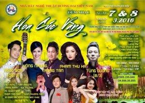 Bán vé Đêm nhạc Hoa cúc vàng tại Hà Nội