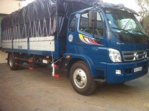 Xe tải THACO OLLIN 950   Kích thước lọt lòng thùng: 6900 x 2290 x 600