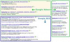 Quảng cáo từ khóa google chỉ 500k/tháng