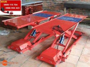 Mua bàn nâng xe máy, bàn nâng cơ và điện sửa...