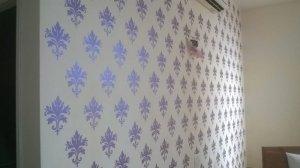Sơn hoa văn trang trí nội thất đẹp, chất lượng