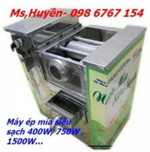 Máy ép mía siêu sạch 750W bàn dài giá rẻ nhất tốt nhất tại Hà Nội