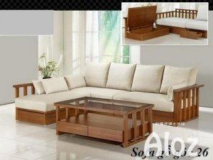 Mẫu sofa gỗ đẹp giá rẻ | sofa gỗ
