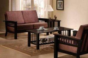 sofa gỗ sang trọng