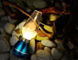 Đèn thần thổi là sáng tắt