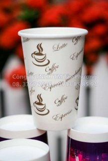 Ly cafe nóng 12oz