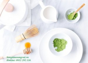 Da sạch mụn, hết nám bằng trà xanh Matcha