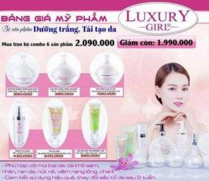 Mỹ phẩm Luxury girl thương hiệu số 1 hiện nay