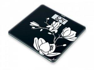 Cân sức khỏe điện tử mặt kính cường lực Beurer GS211 hình hoa mộc lan của CHLB Đức hàng nhập khẩu chính hãng - Công ty Hợp Phát