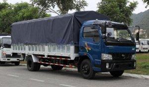 Xe tải động cơ Hyundai Veam VT750 7,5 tấn thùng dài 6,1m