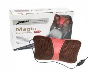 Hãy sắm ngay cho bạn và gia đình Gối Massage Hồng Ngoại Magic Energy Pillow Puli PL818