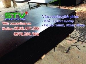 Chuyên phân phối ván cốp pha phủ phim, phủ keo, giá rẻ khu vực Tp HCM, Bình Dương, Đồng Nai